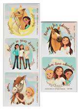 """25 Spirit Riding Free Stickers, 2.5"""" x 2.5"""", Party Favors"""