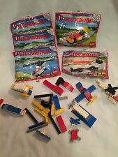 1989 McDonald's Lego Motion Happy Meal Building Sets Toys MIP 3+boysPartsPieces