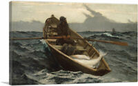 ARTCANVAS Fog Warning 1885 Canvas Art Print by Winslow Homer
