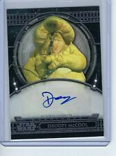 2017 Star Wars 40th Anniversary Deep Roy as Droopy McCool Autograph Auto