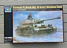 TRUMPETER 1/16 WW II GERMAN PZKPFW IV AUSF.J MEDIUM COMMAND TANK MODEL 00922 F/S