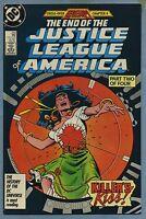 Justice League of America #259 1987 Legends DC Comics c