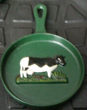 COW SKILLET WALL HANGER