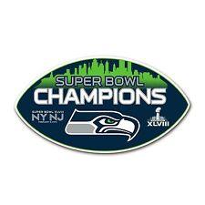 New Seattle Seahawks NFL Champs / Champions Super Bowl XLVIII 48 magnet Wilson