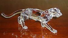 SWAROVSKI CRYSTAL LEOPARD 217093 MINT BOXED RETIRED RARE