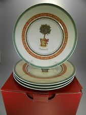 Villeroy & Boch Festive Memories Topiary Boxed Set of 4 Different Motifs