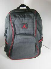 7b183f5376 Nike Air Jordan Jumpman 23 Logo Backpack Laptop 9a1223 023 Black Red