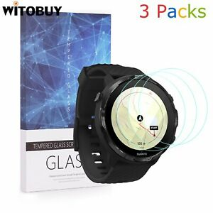 For Suunto 7 Tempered Glass Screen Protector 9H Hardness(3 Packs)