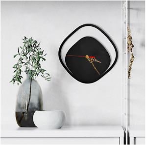 Wall Clock Modern Australian Made Wooden Acrylic Square Art Clock Design