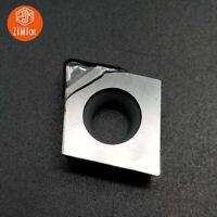 2pcs CCMT / CCGT 120404 PCD Diamond Turning Insert carbide bits cutting