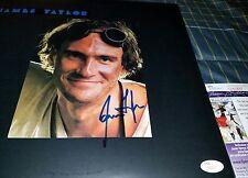 James Taylor Signed Dad Loves His Work Vinyl Album Cover in Person. JSA CERT
