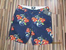 Chinos, Khakis Floral Regular Size Shorts for Men