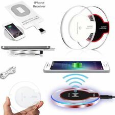 Wireless Charger WiFi Charging Pad Mat Dock for Samsung 8 7 6 iPhone 8 8+ X Qi