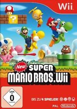 Nintendo Wii +Wii U New Super Mario Bros * Sehr guter Zustand