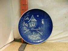 Bing & Grondahl Christmas Plate , 1983 - Christmas In The Old Town 7 1/4 Inch