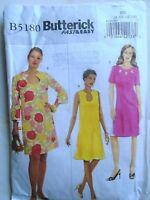 Butterick B5180 Misses Dress Pattern - Size 8/10/12/14 free p&p to uk