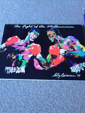 """The Fight of The Millennium"" De La Hoya v Trinidad Programme, 18/9/1999+Poster"