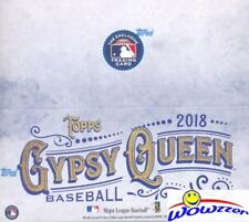 2018 Topps Gypsy Queen Baseball MASSIVE Factory Sealed 24 Pack Retail Box-144 Cd