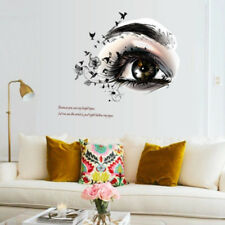 black eyes flower bird home decor wall stickers girls room decal mural flower KQ