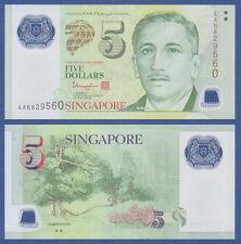 SINGAPUR / SINGAPORE 5 Dollars (2005) Polymer UNC  P. 47 c