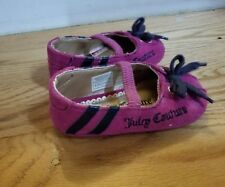 Juicy Couture Baby Girls Shoes Size 4