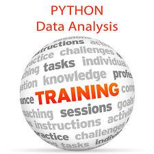 PYTHON Data Analysis - Video Training Tutorial DVD