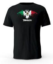 Tabasco Mexico Eagle Flag Black T-Shirt playera Black t-shirt tshirt