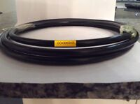 Goodridge braided brake cable with Black PVC covering  20 Metres £44
