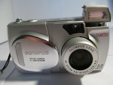 Olympus CAMEDIA C 300 Zoom 3.0 MP Fotocamera Digitale-Argento