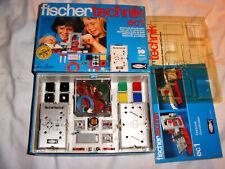 FISCHERTECHNIK Baukasten ec 1, *Elektronik* OVP mit Anleitung/Blister, TOP