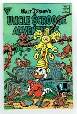 WALT DISNEY'S UNCLE SCROOGE ADVENTURES (GLADSTONE)1989 Very Fine to Near Mint