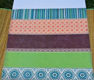 "U-choose (1) DCWV ""Mi Casa"" 12x12 Glitter Bird Wallpaper scrapbook paper"