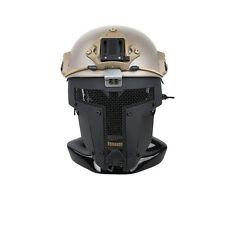 Black Airsoft SPT Mesh Full Face Mask Sparta Tactical Mask AF Helmet Mask