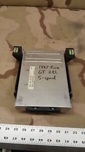 1987 Pontiac Fiero PCM Power train Control Module 5 Speed OEM