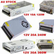 AC 110V/240V TO DC 12V 10/20/30A 120/240/360W Transformer Regulated Power Supply