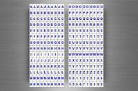 Set 280 x sticker adesivo adesivi alfabeto numero scrapbooking lettere r2