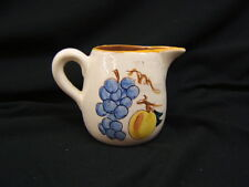 "Stangl ""Fruit"" Small Pitcher 4"" Height USA VGC"
