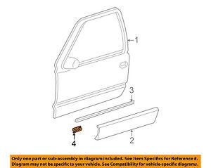 Chevrolet GM OEM 03-06 Silverado 1500 Front Door-Emblem Badge Nameplate 15178666
