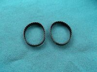 2 NEW DRIVE BELTS MADE IN USA FOR BLACK AND DECKER PLANER 7696 TYPE 1