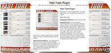 Wordpress Fast Tube Plugin for Youtube Videos on Your Blog - Full Version CD/DVD