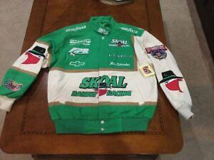 Rare1998 Skoal Bandit Racing Uniform JACKET MINT new w/tag Schrader Nascar 50th