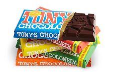 1 x 180 gram TONY CHOCOLONELY BEST TASTING DUTCH MILK CHOCOLATE !!! (fair)