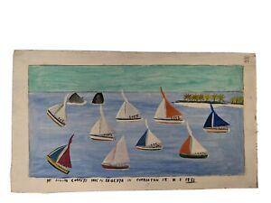 Canute Caliste - Original Painting - Carriacou, Grenada
