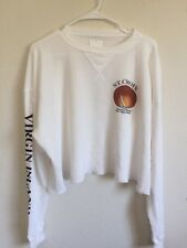 New! Brandy Melville White Waffle long sleeve Laila St Croix thermal top NWT