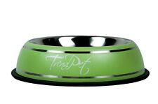TrendPet Fashion Bowl Edelstahl Hundenapf Fressnapf Wassernapf grün 800ml