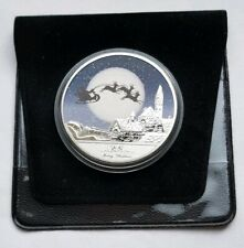 Christmas Eve Night Colour Commemorative Coin - Mint Uncirculated for Charity