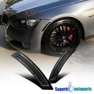 For 2007-2009 BMW E92 E93 328 335 3-Series Side Marker Turn Signal Lights Black