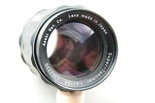 Pentax Super-Takumar 150mm f4 lens with case, nice condition.  M42 screw.