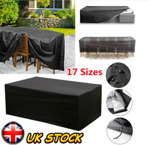 Large Waterproof Garden Patio Furniture Cover Covers Rattan Table Cube Outdoor H