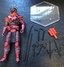 2020 G.I.Joe Classified Red Ninja - Mint, Complete